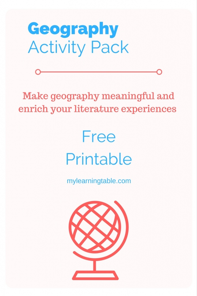 Geography Story Map Activity – Learning Table - Free Printable Story Map