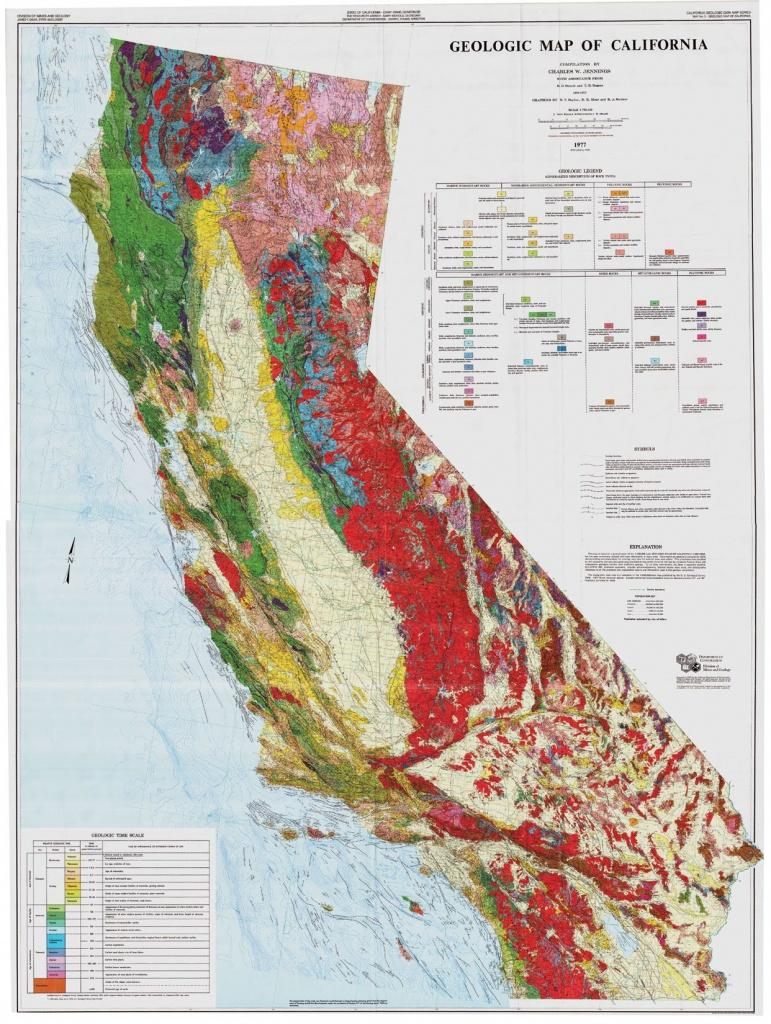 Geologic Map Of California | Quality Map - California Geological Survey Maps