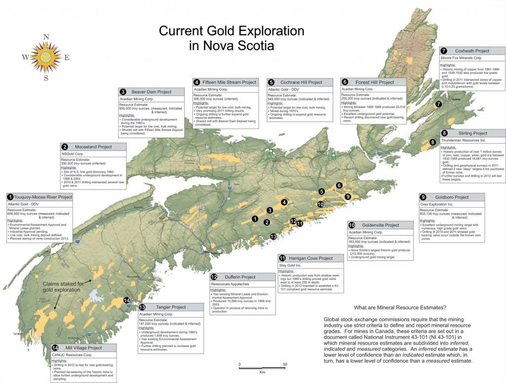 Geomatics Association Of Nova Scotia - Maps & Mapping Resources - Printable Map Of Nova Scotia