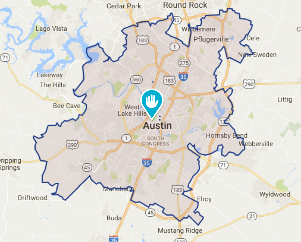 Georgetown Tx House Cleaning And Maids | Morehands - Georgetown Texas Map
