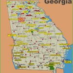 Georgia County Map Printable Georgia State Maps Usa Maps Of Georgia   Georgia State Map Printable