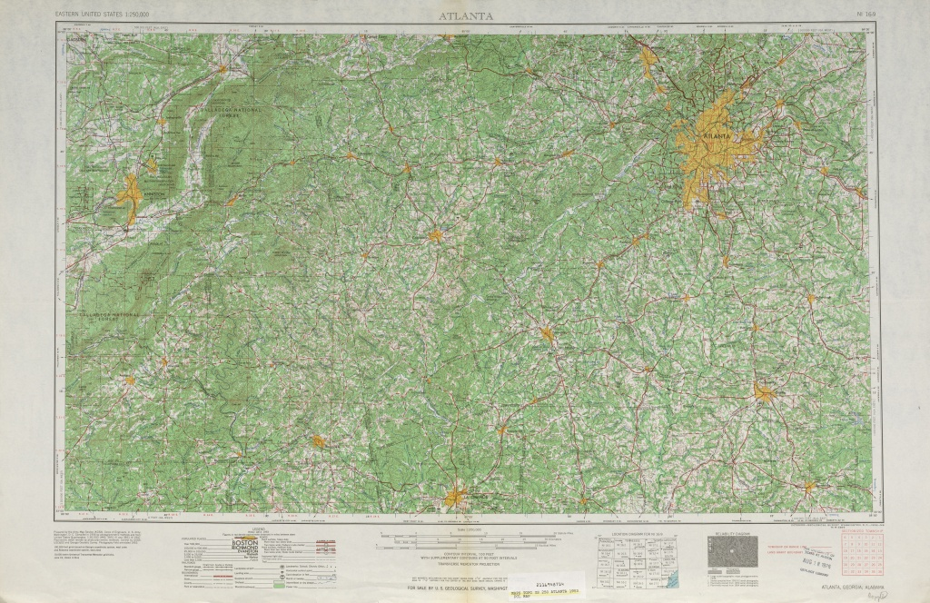 Georgia Historical Topographic Maps - Perry-Castañeda Map Collection - Printable Topo Maps Online