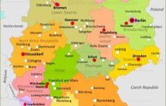 Germany Maps | Maps Of Germany – Free Printable Map Of Germany