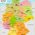 Germany Maps | Maps Of Germany   Large Printable Map Of Germany