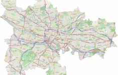 Glasgow City Council Map – Glasgow City Council Boundary Map – Glasgow City Map Printable