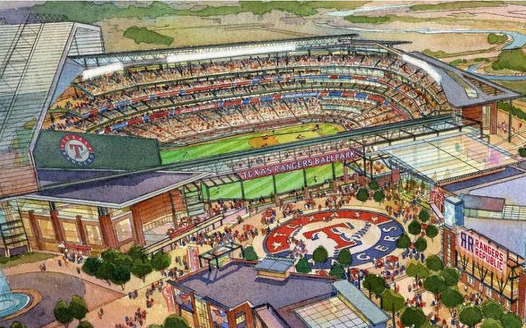Globe Life Field - Pictures, Information And More Of The Future - Texas Rangers Stadium Map