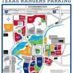 Globe Life Park In Arlington – Where To Park, Eat, And Get Cheap Tickets   Texas Rangers Map