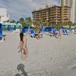 Google Beach View Florida Now Live! | Google Street View World   Google Maps South Beach Florida