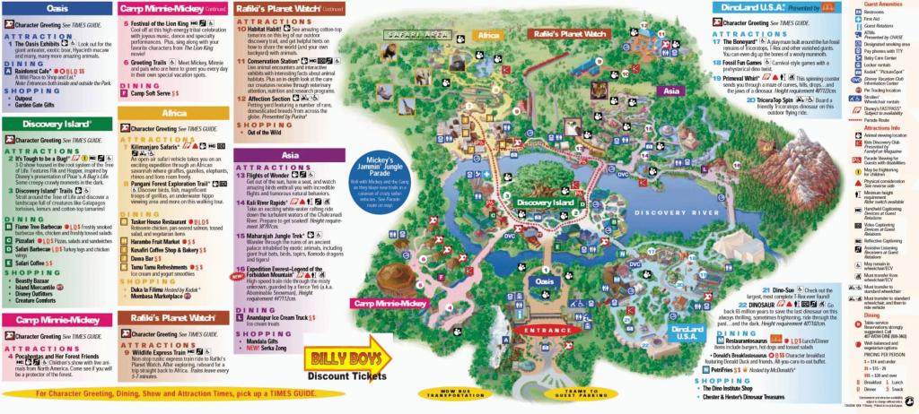 Google Map Disney World Orlando Copy Magic Kingdom Park Walt At 9 - Printable Disney World Maps 2017