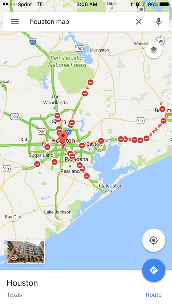 Google Map Of All The Roads Closed In Texas Due To Hurricane Harvey - Google Maps Beaumont Texas