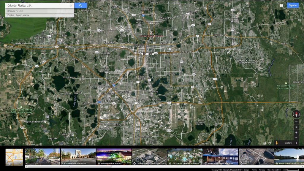 Google Map Of Central Florida And Travel Information | Download Free - Google Map Of Central Florida