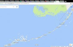Google Maps Florida Keys