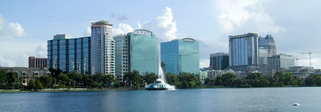Google Map Of Orlando, Florida, Usa - Nations Online Project - Google Maps Orlando Florida Street View
