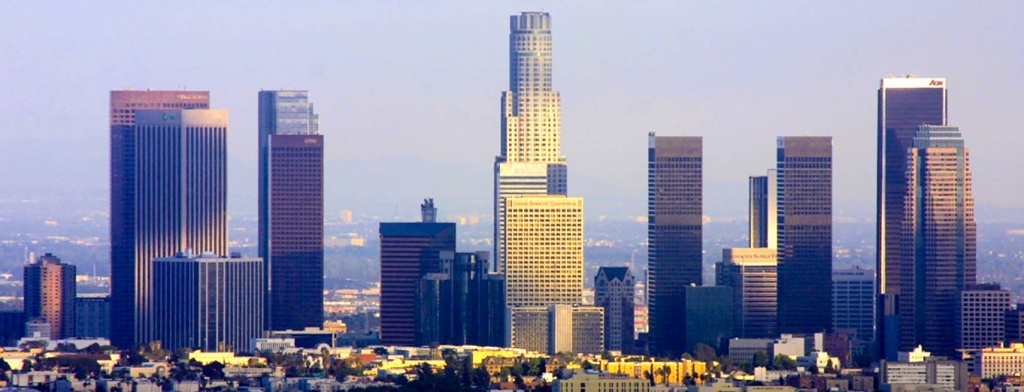 Google Map Of The City Los Angeles, Usa - Nations Online Project - Los Angeles California Google Maps
