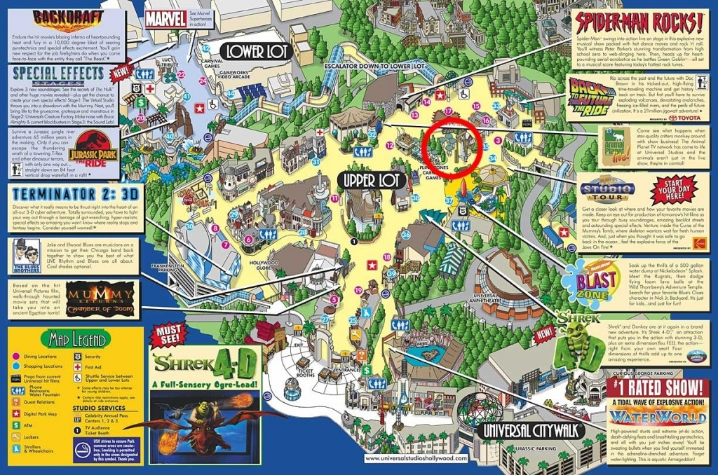 Google Map Universal Studios California – Map Of Usa District - Universal Studios California Map