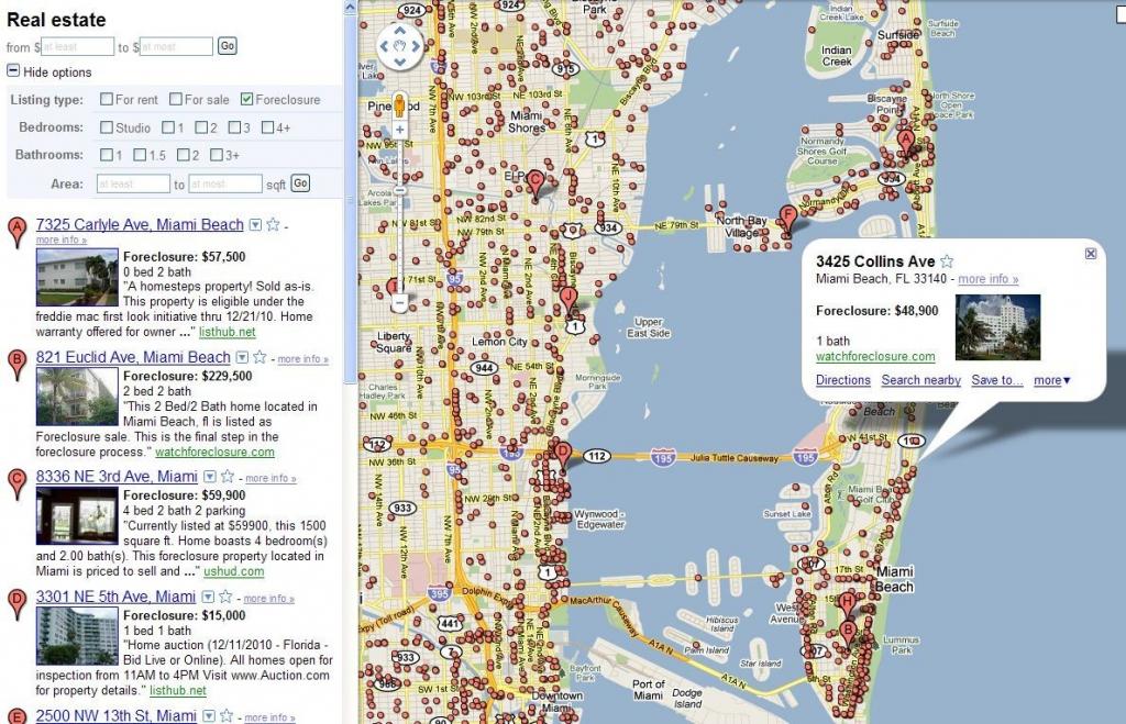 Florida On The World Map.Google Map Miami Florida Printable Maps