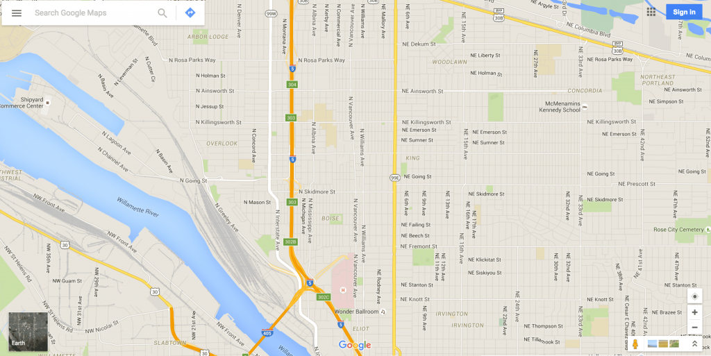 Google Maps Gives Driving Directions And More - Printable Driving Directions Map