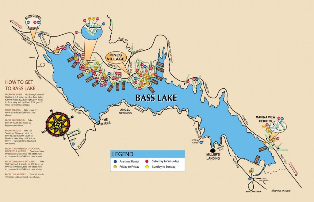 Gorgeous Mobile Home Park Bass Lake!   Biz Builder - Bass Lake California Map