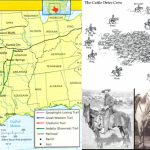 Grade 7 History, Literature, & Logic: Cattle Trails Analysis +   Texas Cattle Trails Map