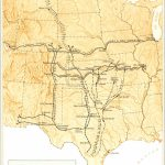 Great Western Cattle Trail   Wikipedia   Texas Cattle Trails Map