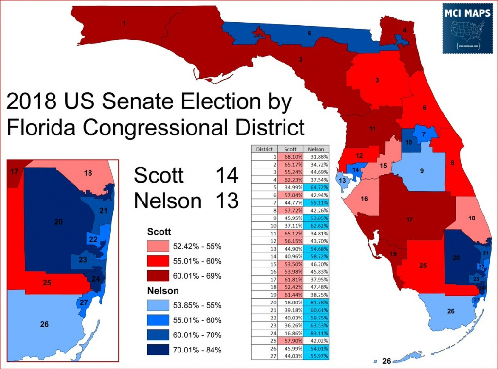 """Greg Giroux On Twitter: """"helpful Maps And Statistics. Of Florida's - Florida Us House District Map"""