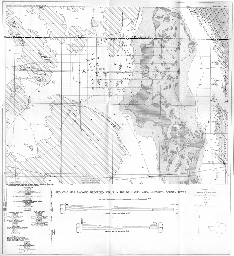Groundwater Bulletins | Texas Water Development Board - Reeves County Texas Plat Maps