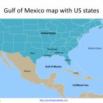 Gulf Of Mexico Map Powerpoint Templates   Free Powerpoint Templates   Mexico Florida Map