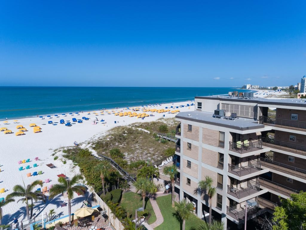 Gulf Strand Resort, St. Pete Beach, Fl - Booking - Map Of Hotels On St Pete Beach Florida