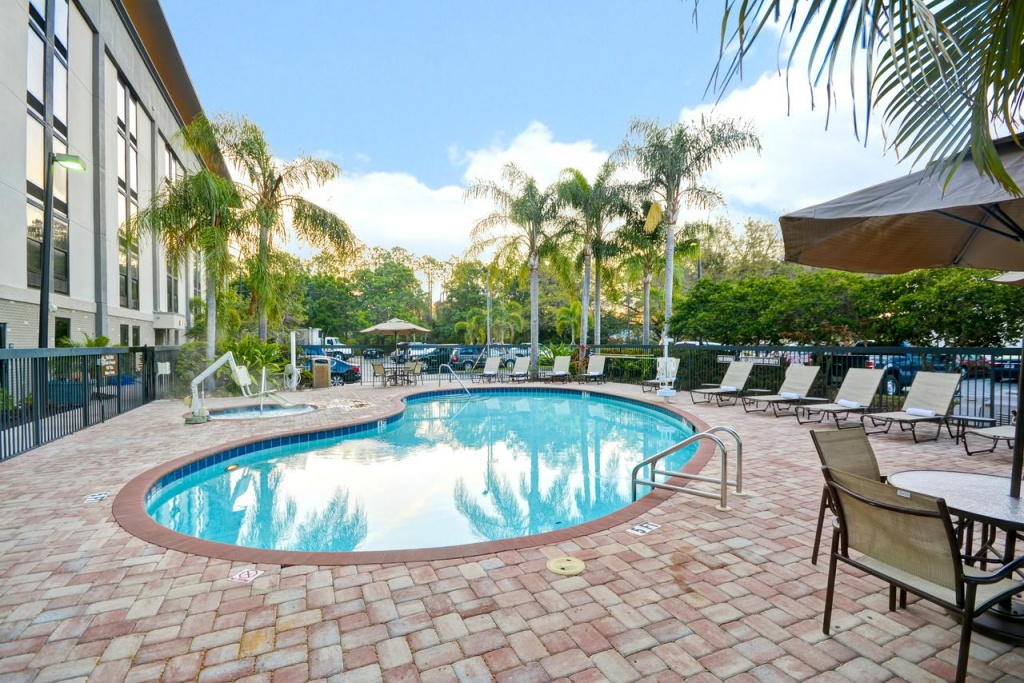 Hampton Inn Sarasota I-75 Bee Ridge, Fl - Booking - Map Of Hotels In Sarasota Florida