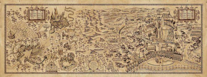 Hogwarts Map Printable