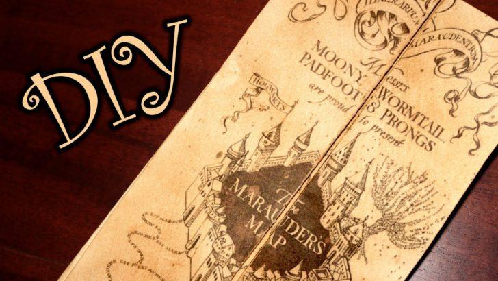 Harry Potter Map Marauders Free Printable