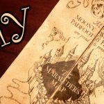 Harry Potter Marauder's Map   Diy   Youtube   The Marauders Map Printable
