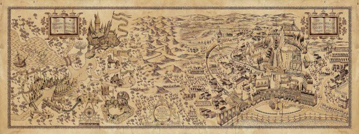 The Marauders Map Printable