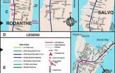 Printable Map Of Outer Banks Nc