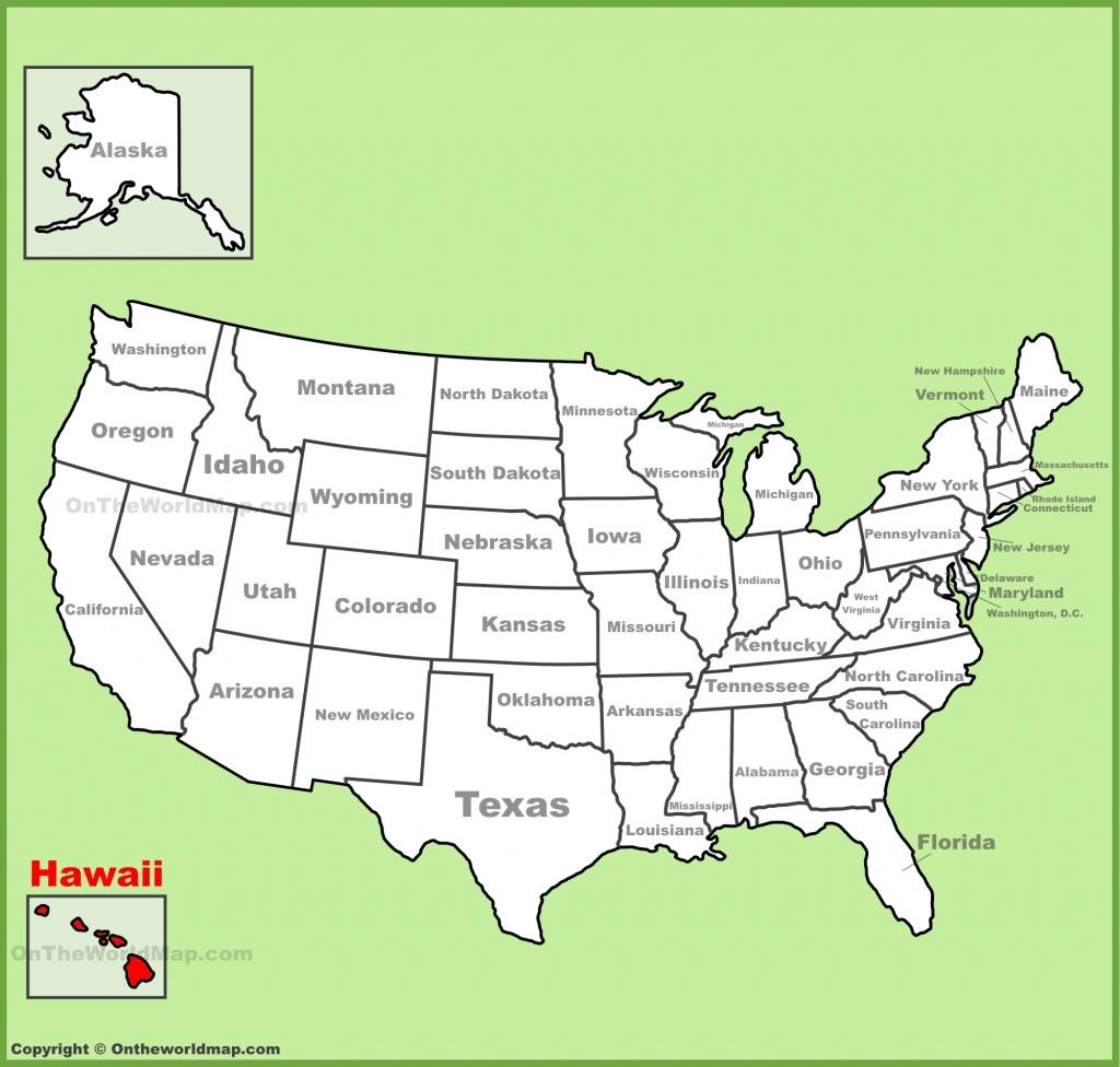 Hawaii State Maps | Usa | Maps Of Hawaii (Hawaiian Islands) - Map Of Hawaiian Islands And California