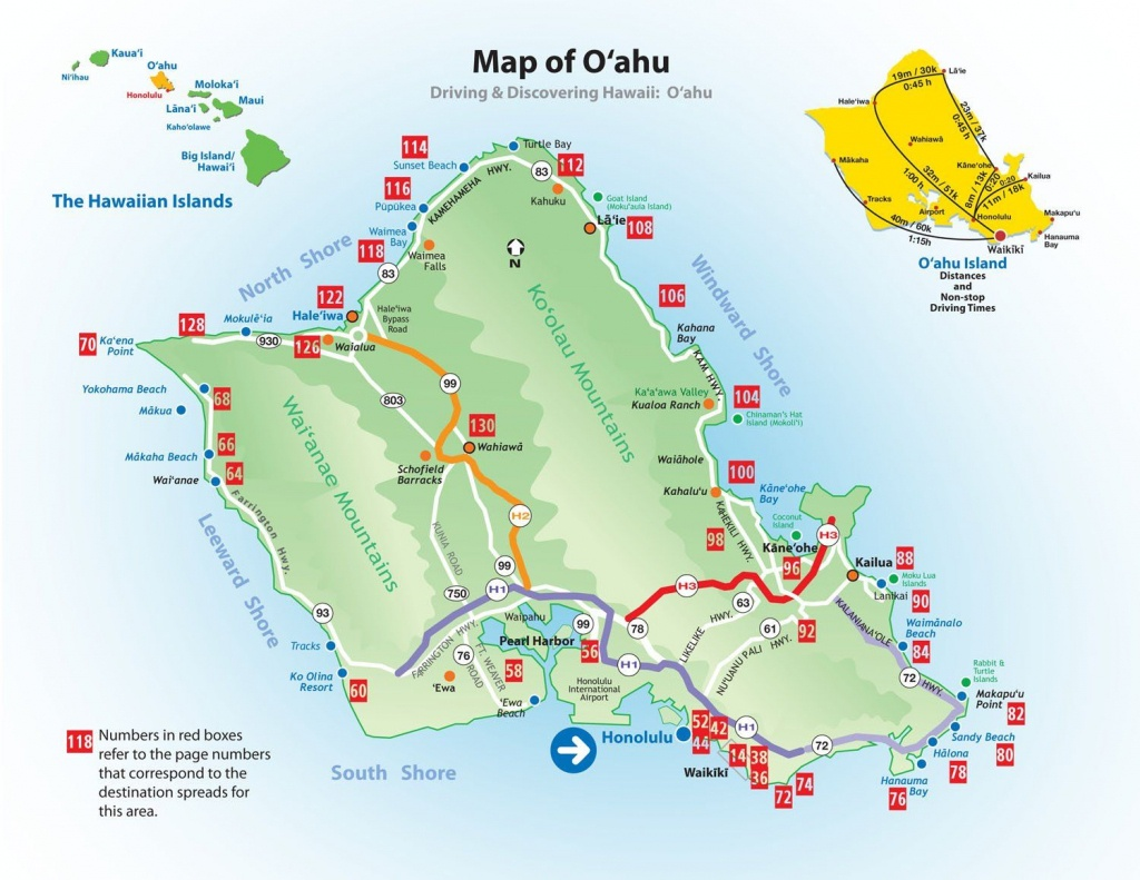 Hawaii Tourist Map   Calgon, Take Me Away..   Map Of Hawaii - Printable Map Of Oahu Attractions