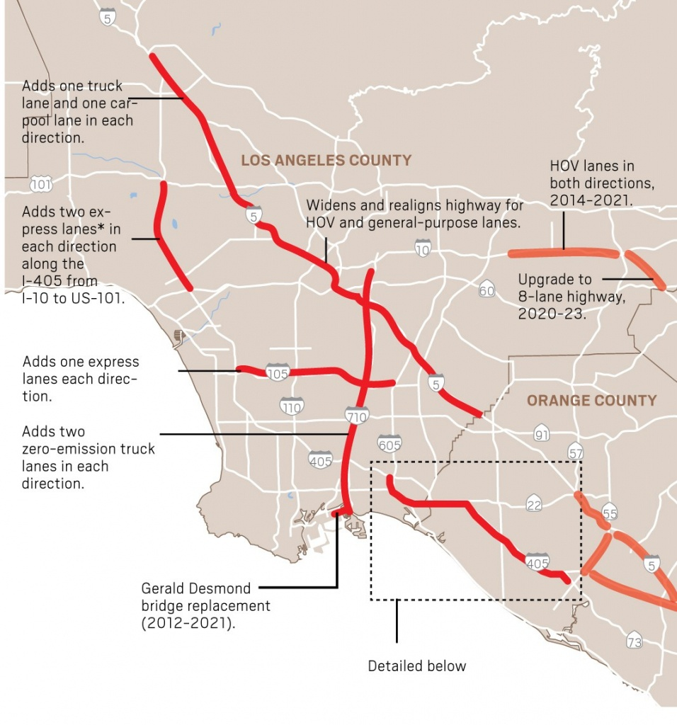 Here Are The Major Highway Improvement Projects Happening In - Fast Track Map California