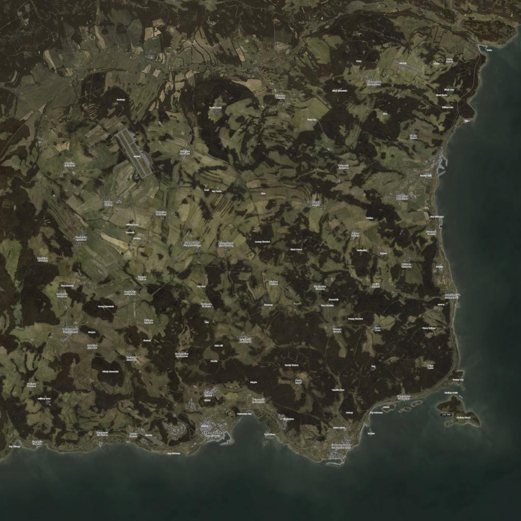 High Res Chernarus Sa Map 7200X7200 - Imgur - Printable Dayz Standalone Map