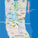 High Resolution Map Of Manhattan For Print Or Download | Usa Travel   Printable Map Manhattan Pdf