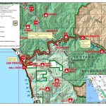 Highway 1 Conditions In Big Sur, California   Highway One California Map