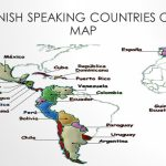 Hispanic Countries Map | Country Map   Printable Map Of Spanish Speaking Countries