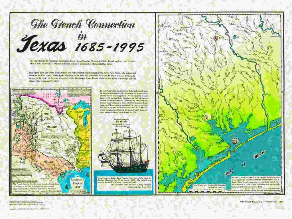 Historical Texas Maps, Texana Series - Quitman Texas Map