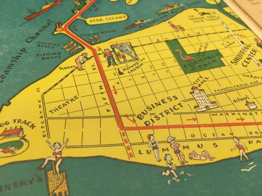 """Historymiami Museum On Twitter: """"""""hotel Good Map Of Miami Beach"""", Fl - Map Of Miami Beach Florida Hotels"""