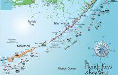 Florida Keys Spearfishing Map
