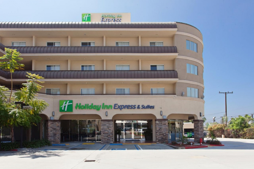 Holiday Inn Pasadena-Colorado Boule, Ca - Booking - Map Of Holiday Inn Express Locations In California