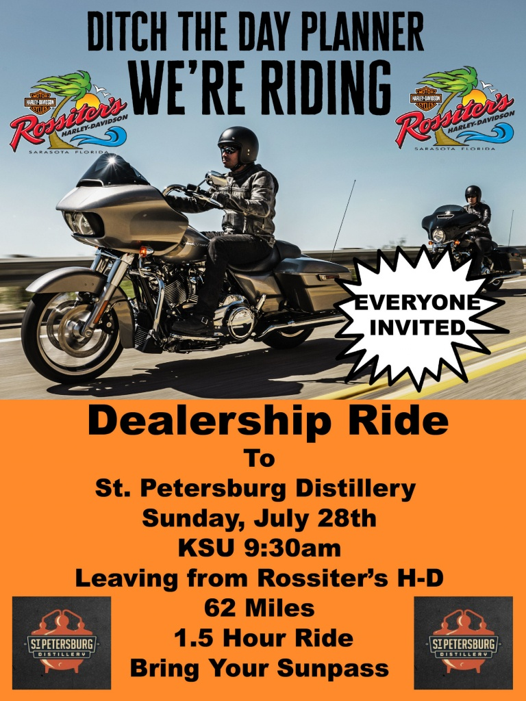 Hot Stuff | Rossiter's Harley-Davidson® | Sarasota Florida - Harley Davidson Dealers In Florida Map