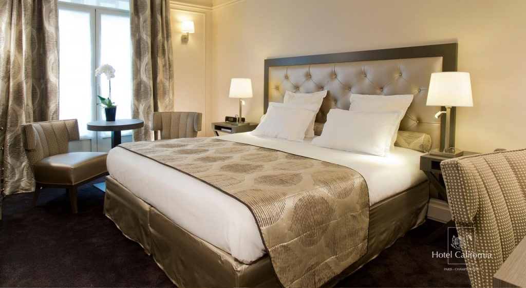 Hôtel California Champs Elysées, Paris – Updated 2019 Prices - Hotel California Paris Map