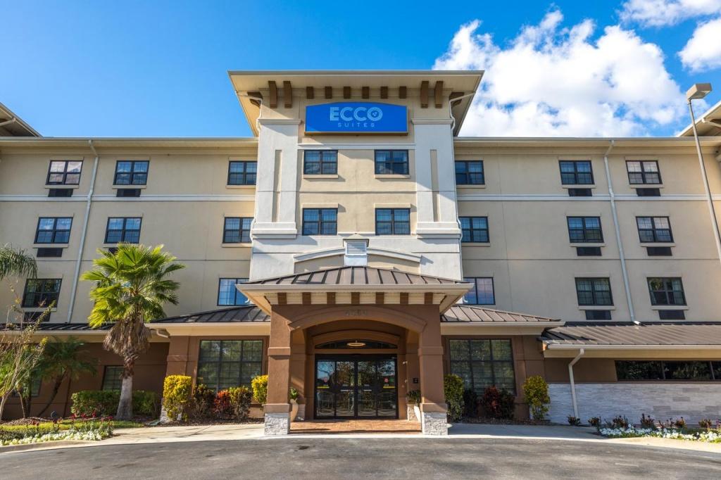 Hotel Ecco Suites, Lakeland, Fl - Booking - Lakeland Florida Hotels Map