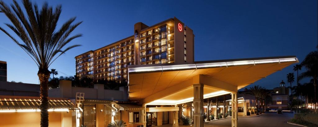 Hotel In Anaheim, Ca - Resort   Sheraton Park Hotel At The Anaheim - Spg Hotels California Map