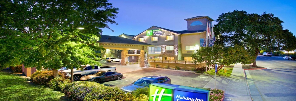 Hotel In Central Coast, Ca - Holiday Inn Express & Suites Paso Robles - Map Of Holiday Inn Express Locations In California